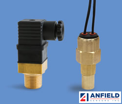 Anfield S2TAF/S3TAF系列工业应用双金属温度开关